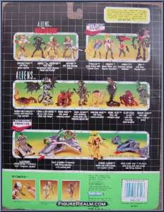 Kenner AVP 1992 Back