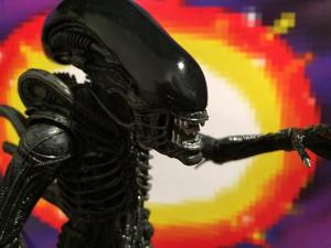 NECA AVP 2 PACK Alien Mouth Closed