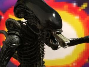 NECA AVP 2 PACK Alien Mouth Open