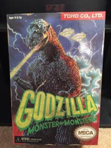 NECA VGA Godzilla Box
