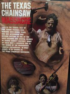 TCM Ultimate Leatherface Back Box